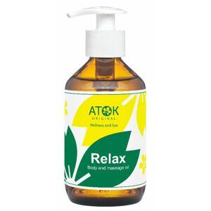 Atok tělový a masážní olej Relax 250 ml