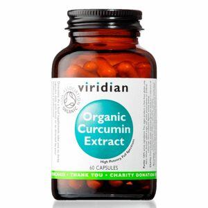 Viridian Curcumin Extract Organic (Kurkumin) 60 kapslí