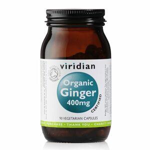 Viridian Ginger 400mg Organic (Zázvor) 90 kapslí