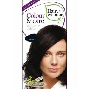 Barva ČERNÁ 1 přírodní dlouhotrvající BIO Hairwonder