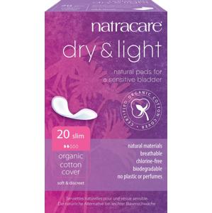 Natracare Inkontinenční vložky Dry Light 20 ks