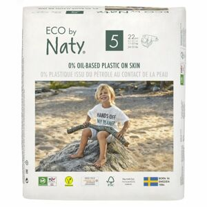Naty Plenky Junior 11-25 kg 22 ks