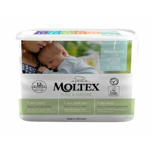 Moltex Plenky Pure & Nature Newborn 2-4 kg 22 ks