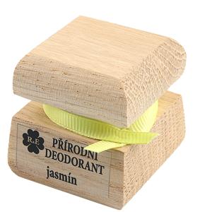 RaE krémový deodorant Jasmín s ručně malovaným víčkem 15 ml