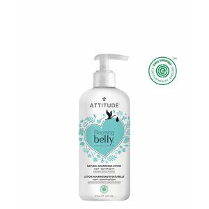 Přírodní vyživující tělové mléko nejen pro těhotné s arganem Attitude Blooming Belly 473ml