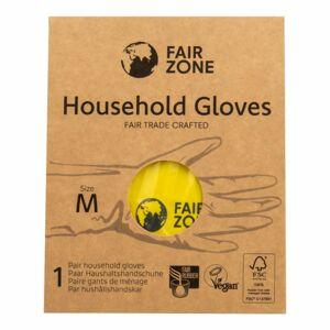 Rukavice pro domácnost z přírodního latexu M Fair Squared