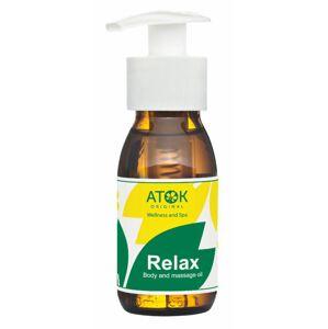 Atok tělový a masážní olej Relax 50 ml