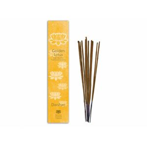 Golden Lotus - Darshan vonné tyčinky 10ks