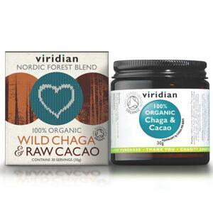 Viridian Wild Chaga & Raw Cacao Organic 30g